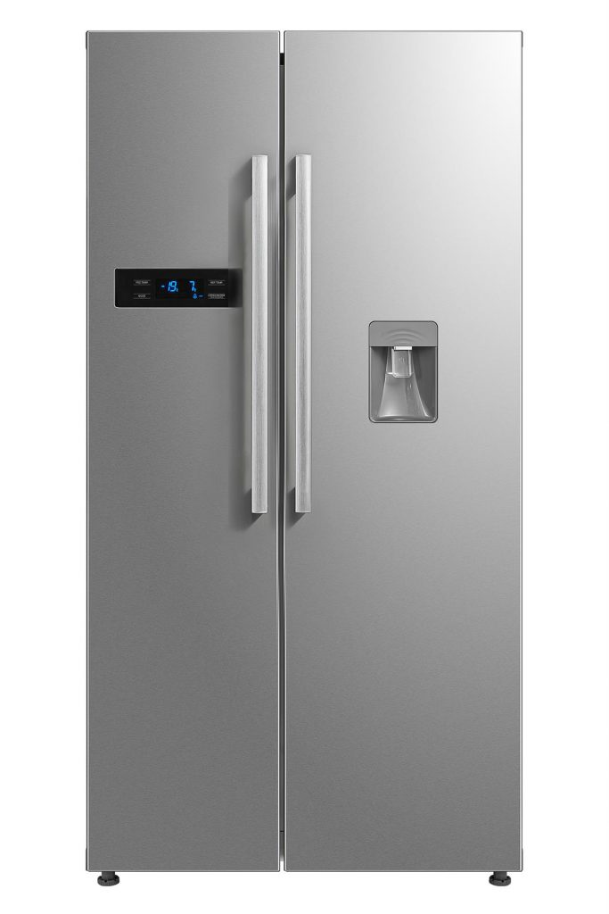 Montpellier M520WDX Side-By-Side Fridge Freezer