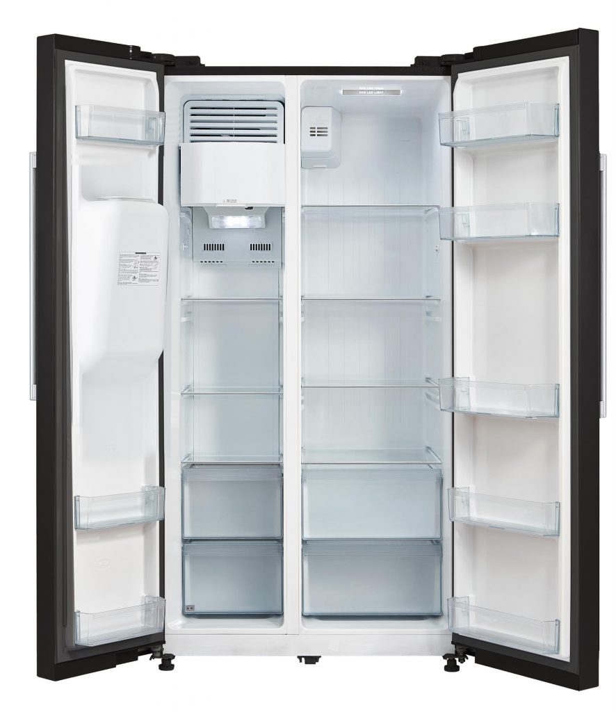 Montpellier M530PDIK American Style Plumbed Fridge Freezer