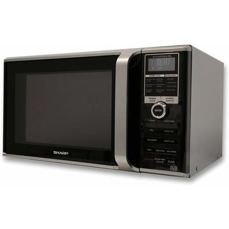 Sharp R890SLM 900W 26L Silver Freestanding Combi Microwave Oven