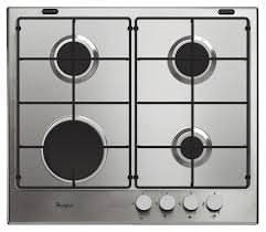 Whirlpool GMA6411IX 60cm 4 Burner Stainless Steel Gas Hob
