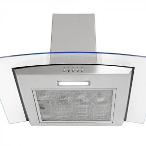 Montpellier MHE600LX 60cm Curved Glass Cooker Hood