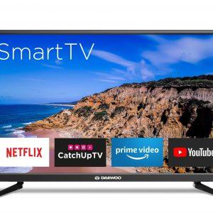 Daewoo D32RTSDVD | 32' LED Smart HD Television - Netflix, Prime