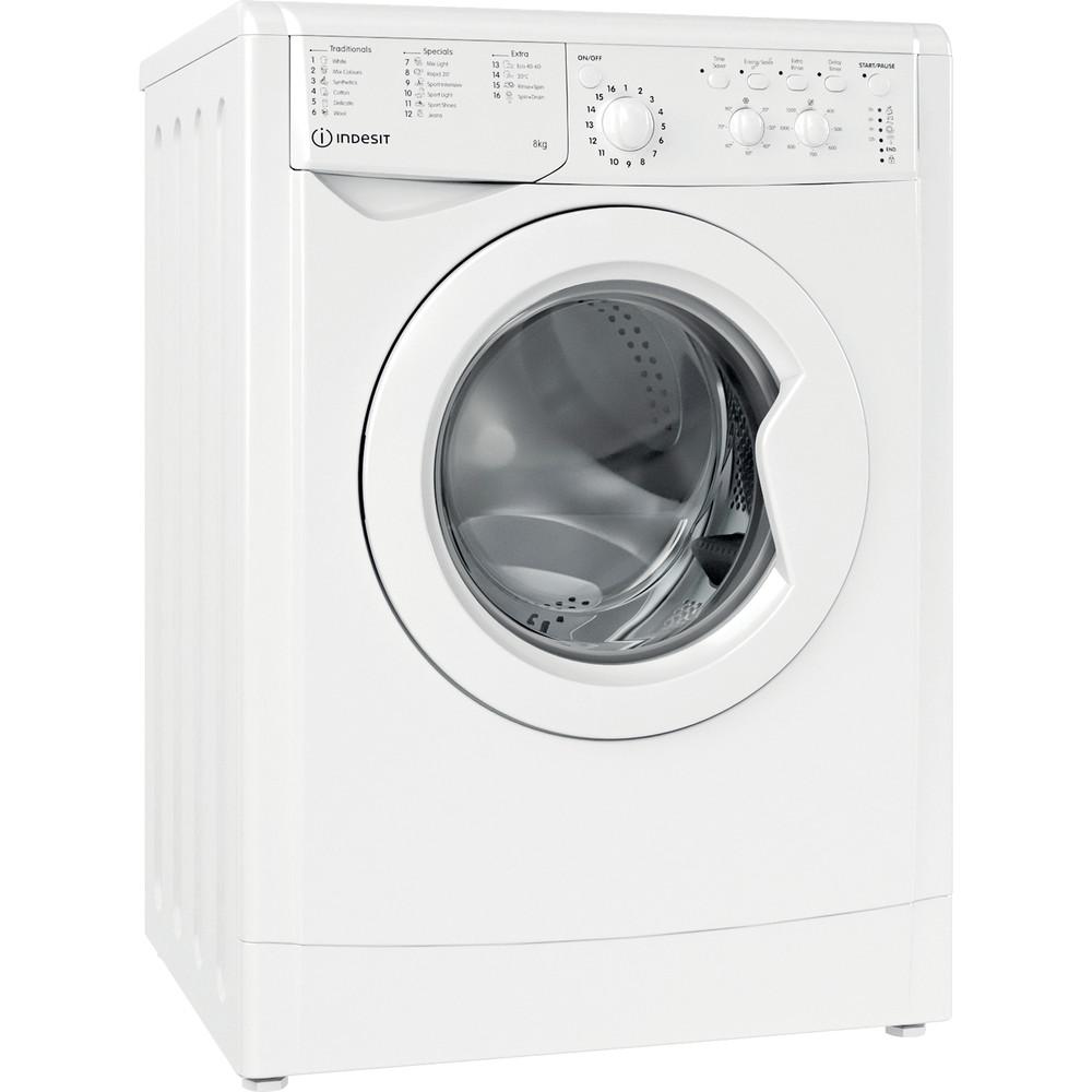 Indesit IWC81251W   8kg 1200rpm Freestanding Washing Machine - White