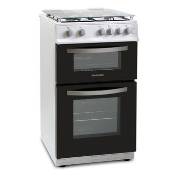 Montpellier MTG50LW 50cm Twin Cavity Gas Cooker