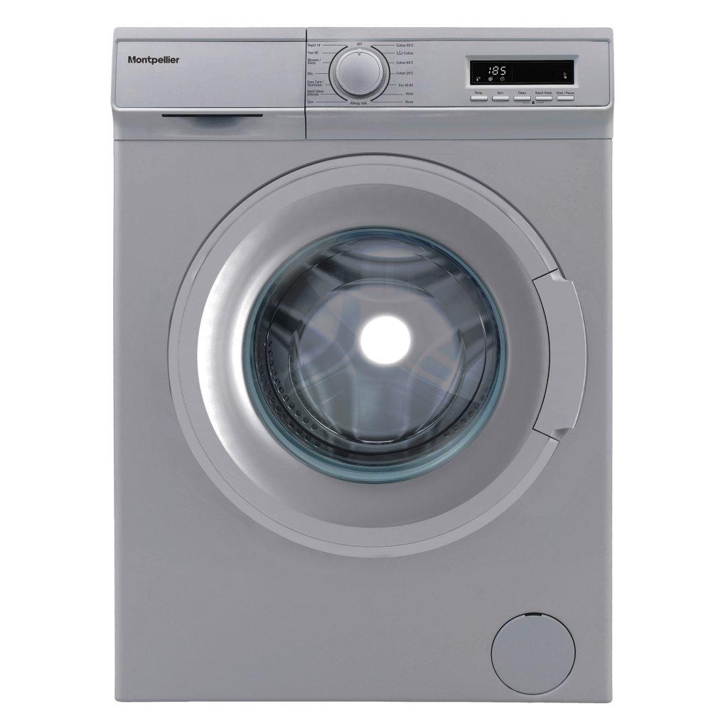 Montpellier MW7141S 7kg Washing Machine - Silver