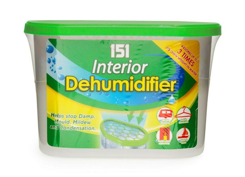 The 151007 disposable dehumidifier
